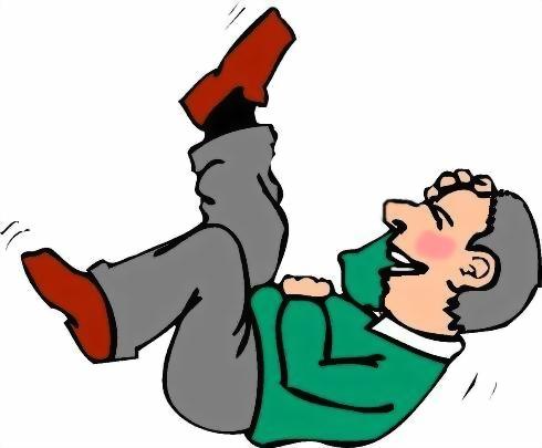 cartoon man lying down laughing 2 dementia journey