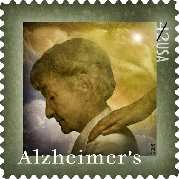 Alzheimer's Disease Research Semipostal Stamp (1)